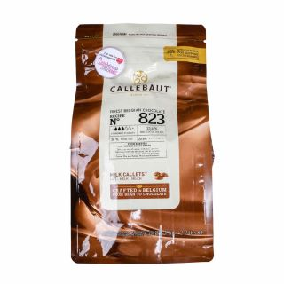 Callebaut Recipe No 823 Belgium MILK CHOCOLATE 1kg