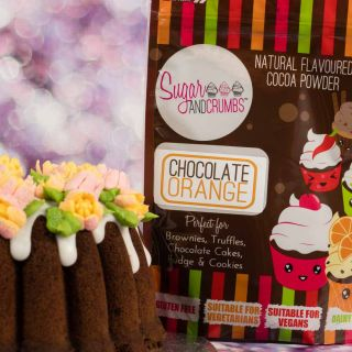 Sugar and Crumbs Cocoa Powder CHOCOLATE ORANGE 250g