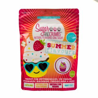 Sugar and Crumbs Natural Flavoured Icing Sugar STRAWBERRY DAIQUIRI 500g