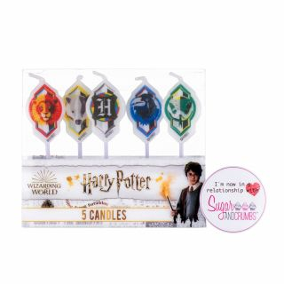 5 Birthday Candles Harry Potter