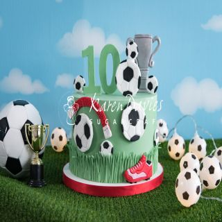 *NEW* June 2021 - Karen Davies Silicone Mould Cookie Football.abc
