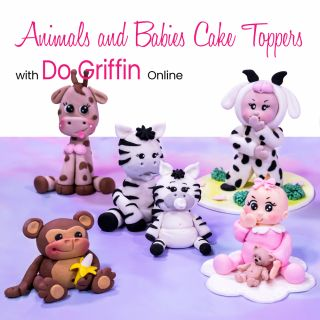Animals and Babies Cake Toppers with Do Griffin Online