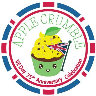 Sugar and Crumbs VE Day 75th Anniversary APPLE CRUMBLE 500g