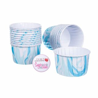 Culpitt Baking Cups BLUE MARBLE Pack of 24