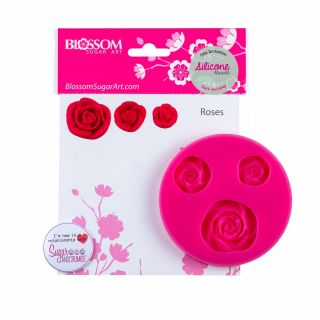 Blossom Sugar Art Mould ROSES