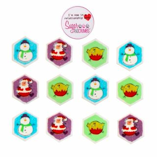 Bouncy Christmas Sugarette Pack of 450.