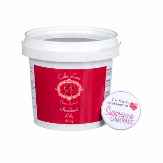 Cake Lace Pre Mix RUBY RED 200g