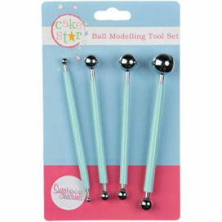 Cake Star Ball Tools Set of 4