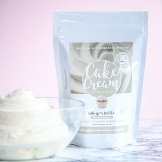 Cake Cream Whisper White 200g