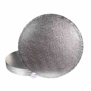 Cake Drum SQUARE Silver 16 Inch Pack of 5