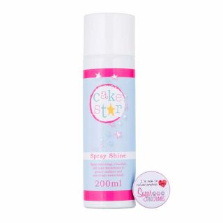 Cake Star Spray Shine Glaze 200ml