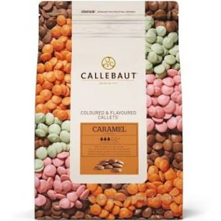Callebaut Coloured and Flavoured Callets CARAMEL 500g