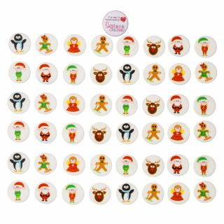 Children's Christmas Sugarettes 30mm Pack of 448.