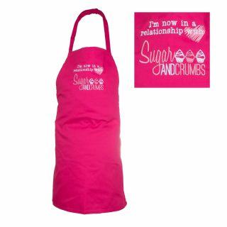 Sugar and Crumbs Children's Apron HOT PINK
