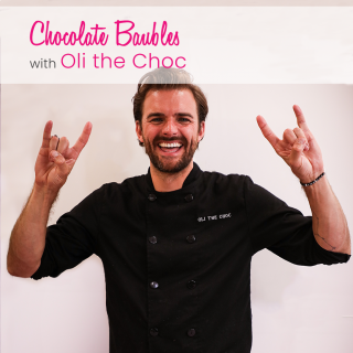 Christmas Baubles with Oli the Choc Master Chocolatier Online