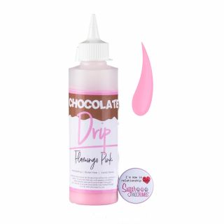 Chocolate Drip FLAMINGO PINK Chocolate Icing 250g