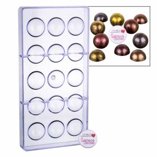 Chocolate Mould 3D Chocolate Drops or Truffles 15 Cavity