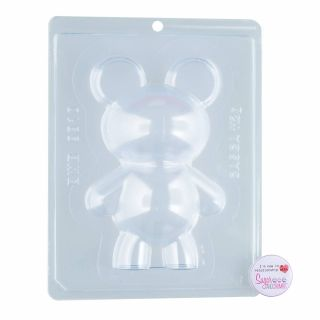 Chocolate Mould BWB 3 Part Bear