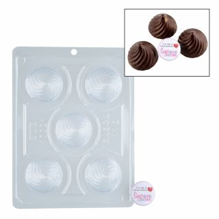 Chocolate Mould BWB 3 Part Meringue Truffle.a