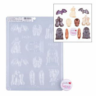 Chocolate Mould BWB Assorted Halloween Designs