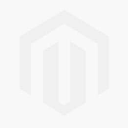 Christmas Cake Card Double Thick Silver Holly Round 08 inch