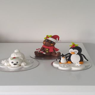 Christmas Cake Toppers with Do Griffin Online