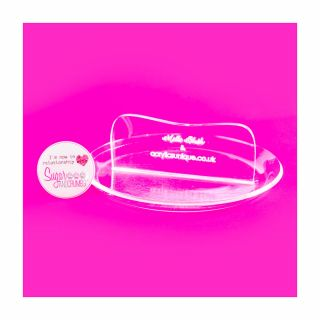 Clear Acrylic Smoothers MINI ROUND