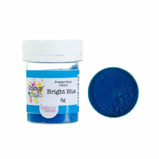 Colour Splash Dust MATT BRIGHT BLUE 5g