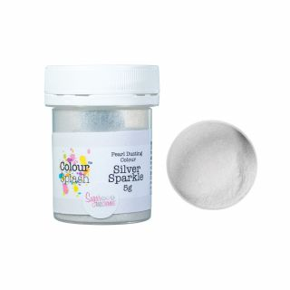 Colour Splash Dust PEARL SILVER SPARKLE 5g