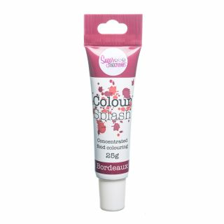 Colour Splash Food Colouring Gel BORDEAUX 25g
