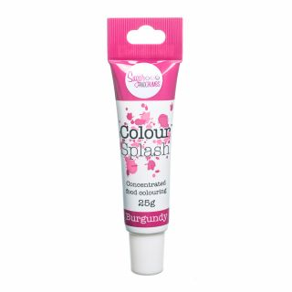 Colour Splash Food Colouring Gel BURGUNDY 25g