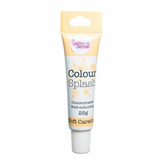 Colour Splash Food Colouring Gel SOFT CARAMEL 25g