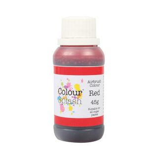 Colour Splash Airbrush Liquid Red