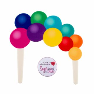 Culpitt Balloon Garland Non Edible Cake Topper