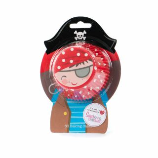 Cupcake Cases PIRATE Pack of 50