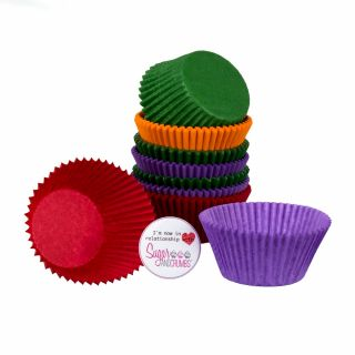 Easy Bake Rainbow Muffin Cases Pack of 100