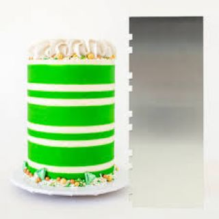 Evil Cake Genius Two Tone Alternating Stripes Comb.1