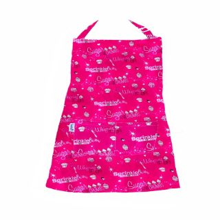 Exclusive Sugar and Crumbs Aprons by the Sunday Girl Co - 2 Layer with Polka Dots