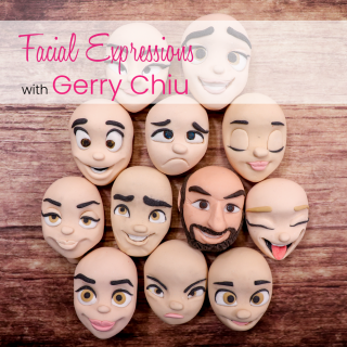 Facial Expressions with Gerry Chiu Online