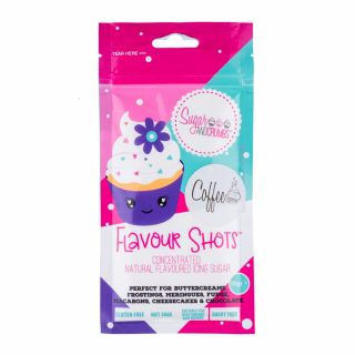 Flavour Shots! - Concentrated Flavoured Icing Sugar - Coffee