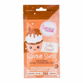 Flavour Shots! - Concentrated Flavoured Icing Sugar - Salted Caramel