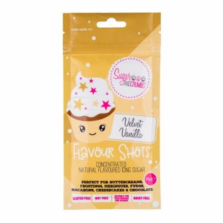 Flavour Shots! - Concentrated Flavoured Icing Sugar - Velvet Vanilla