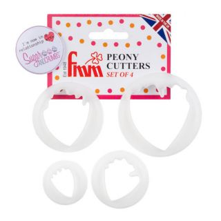 FMM Peony Cutters Set of 4