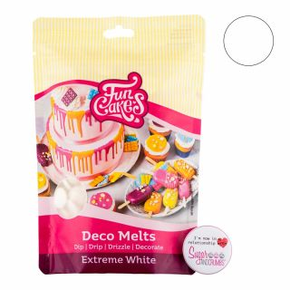 FunCakes Deco Melts Extreme White 250g.a
