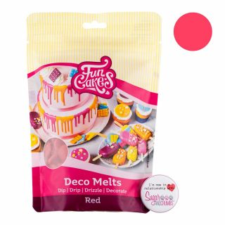 FunCakes Deco Melts RED