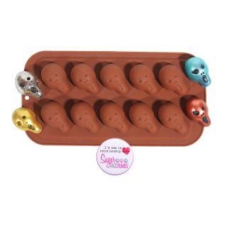 S&C Silicone Mould Chocolate Skull