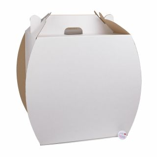 Giant Cupcake Handbag Box Corrugated 10 Inch Base