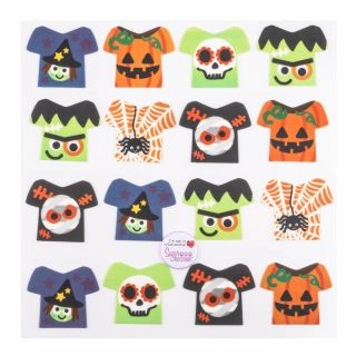 Halloween Jumpers Printed Sugar Edible Topper Pack of 80
