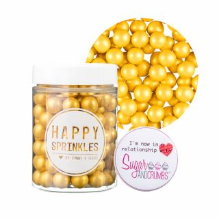 Happy Sprinkles Gold Choco Crunch Medium 90g