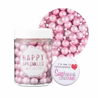 Happy Sprinkles PINK Choco Crunch Medium 90g